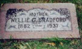 BRADFORD, NELLIE - Allen County, Ohio | NELLIE BRADFORD - Ohio Gravestone Photos
