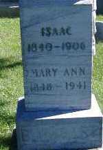 BURKHART, ISAAC - Allen County, Ohio | ISAAC BURKHART - Ohio Gravestone Photos