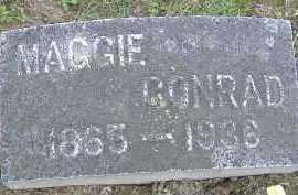 CONRAD, MAGGIE - Allen County, Ohio   MAGGIE CONRAD - Ohio Gravestone Photos