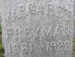 FREYMAN, MARGARET - Allen County, Ohio | MARGARET FREYMAN - Ohio Gravestone Photos