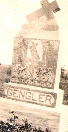 GENGLER, MARY CATHERINE - Allen County, Ohio | MARY CATHERINE GENGLER - Ohio Gravestone Photos