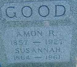 GOOD, SUSANNAH - Allen County, Ohio | SUSANNAH GOOD - Ohio Gravestone Photos