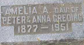 GREDING, AMELIA - Allen County, Ohio   AMELIA GREDING - Ohio Gravestone Photos