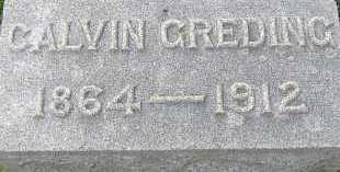 GREDING, CALVIN - Allen County, Ohio   CALVIN GREDING - Ohio Gravestone Photos