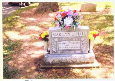 BLUE HALL, MARILYN - Allen County, Ohio   MARILYN BLUE HALL - Ohio Gravestone Photos
