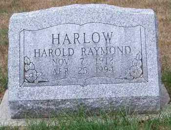 HARLOW, HAROLD RAYMOND - Allen County, Ohio   HAROLD RAYMOND HARLOW - Ohio Gravestone Photos