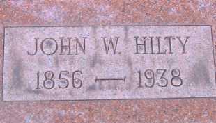 HILTY, JOHN W. - Allen County, Ohio | JOHN W. HILTY - Ohio Gravestone Photos