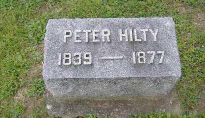 HILTY, PETER - Allen County, Ohio | PETER HILTY - Ohio Gravestone Photos