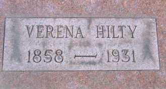HILTY, VERENA - Allen County, Ohio   VERENA HILTY - Ohio Gravestone Photos