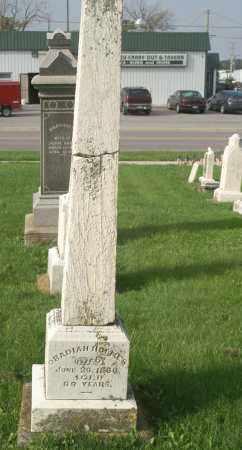 HOLMES, OBADIAH - Allen County, Ohio | OBADIAH HOLMES - Ohio Gravestone Photos