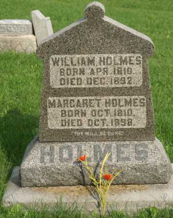 HOLMES, WILLIAM - Allen County, Ohio | WILLIAM HOLMES - Ohio Gravestone Photos