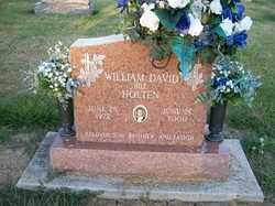 HOLTEN, WILLIAM DAVID - Allen County, Ohio   WILLIAM DAVID HOLTEN - Ohio Gravestone Photos