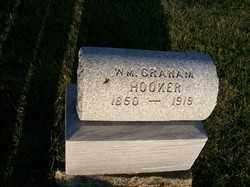 HOOKER, W M GRAHAM - Allen County, Ohio   W M GRAHAM HOOKER - Ohio Gravestone Photos