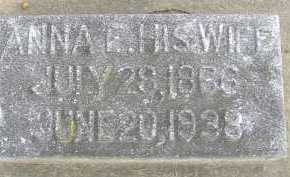 HUBER, ANNA - Allen County, Ohio | ANNA HUBER - Ohio Gravestone Photos
