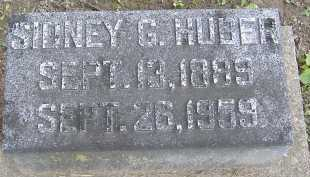 HUBER, SIDNEY G. - Allen County, Ohio | SIDNEY G. HUBER - Ohio Gravestone Photos