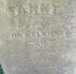 KELCHNER, FANNY - Allen County, Ohio | FANNY KELCHNER - Ohio Gravestone Photos