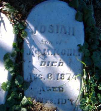 KOHLI, JOSIAH - Allen County, Ohio | JOSIAH KOHLI - Ohio Gravestone Photos