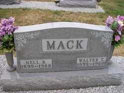 MACK, NELL B. - Allen County, Ohio | NELL B. MACK - Ohio Gravestone Photos