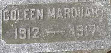 MARQUART, COLEEN - Allen County, Ohio   COLEEN MARQUART - Ohio Gravestone Photos