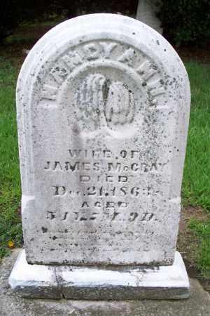 WARD MCCRAY, NANCY ANN - Allen County, Ohio | NANCY ANN WARD MCCRAY - Ohio Gravestone Photos