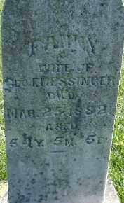 MESSINGER, FANNY - Allen County, Ohio   FANNY MESSINGER - Ohio Gravestone Photos