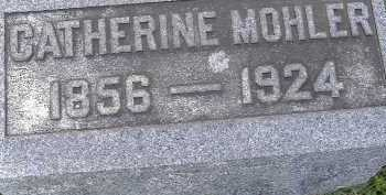 MOHLER, CATHERINE - Allen County, Ohio | CATHERINE MOHLER - Ohio Gravestone Photos