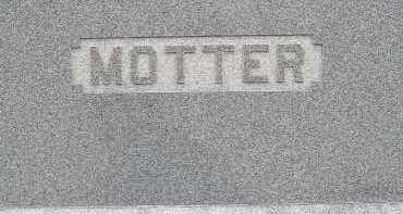 MOTTER, FAMILY - Allen County, Ohio | FAMILY MOTTER - Ohio Gravestone Photos