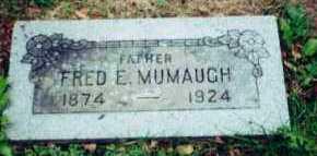 MUMAUGH, FRED - Allen County, Ohio   FRED MUMAUGH - Ohio Gravestone Photos