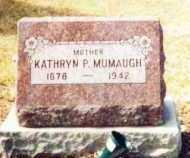 MUMAUGH, KATHRYN - Allen County, Ohio   KATHRYN MUMAUGH - Ohio Gravestone Photos