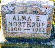 NORTHRUP, ALMA - Allen County, Ohio | ALMA NORTHRUP - Ohio Gravestone Photos