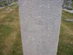 POST, SARAH E. - Allen County, Ohio | SARAH E. POST - Ohio Gravestone Photos