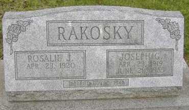 RAKOSKY, ROSALIE J. - Allen County, Ohio   ROSALIE J. RAKOSKY - Ohio Gravestone Photos