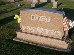 RUPERT, JOHN D, - Allen County, Ohio   JOHN D, RUPERT - Ohio Gravestone Photos