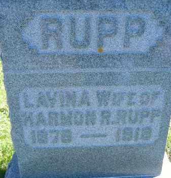RUPP, LAVINA - Allen County, Ohio | LAVINA RUPP - Ohio Gravestone Photos