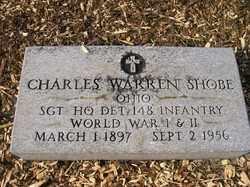 SHOBE, CHARLES WARREN - Allen County, Ohio   CHARLES WARREN SHOBE - Ohio Gravestone Photos