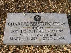 SHOBE, CHARLES WARREN - Allen County, Ohio | CHARLES WARREN SHOBE - Ohio Gravestone Photos
