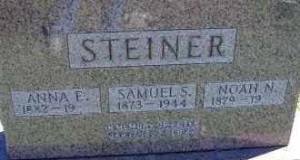 STEINER, ANNA - Allen County, Ohio | ANNA STEINER - Ohio Gravestone Photos