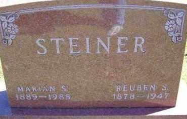STEINER, REUBEN - Allen County, Ohio   REUBEN STEINER - Ohio Gravestone Photos