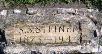 STEINER, S.S. - Allen County, Ohio | S.S. STEINER - Ohio Gravestone Photos