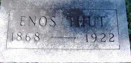 THUT, ENOS - Allen County, Ohio   ENOS THUT - Ohio Gravestone Photos