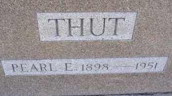 THUT, PEARL - Allen County, Ohio | PEARL THUT - Ohio Gravestone Photos