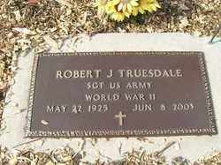 TRUESDALE, ROBERT J. - Allen County, Ohio | ROBERT J. TRUESDALE - Ohio Gravestone Photos