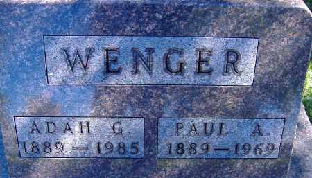 WENGER, PAUL - Allen County, Ohio | PAUL WENGER - Ohio Gravestone Photos