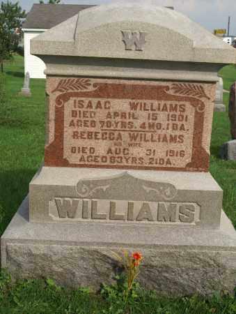 WILLIAMS, REBECCA - Allen County, Ohio | REBECCA WILLIAMS - Ohio Gravestone Photos