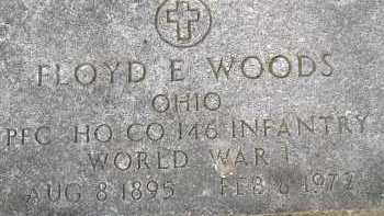 WOODS, FLOYD E. - Allen County, Ohio | FLOYD E. WOODS - Ohio Gravestone Photos