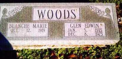 WOODS, BLANCHE - Allen County, Ohio | BLANCHE WOODS - Ohio Gravestone Photos