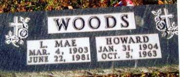 WOODS, HOWARD - Allen County, Ohio   HOWARD WOODS - Ohio Gravestone Photos