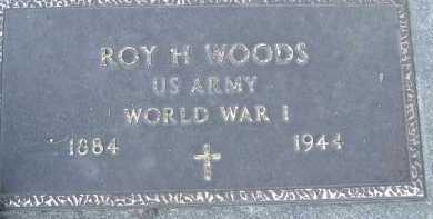 WOODS, ROY H. - Allen County, Ohio | ROY H. WOODS - Ohio Gravestone Photos
