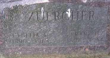 ZUERCHER, FRANK II - Allen County, Ohio | FRANK II ZUERCHER - Ohio Gravestone Photos