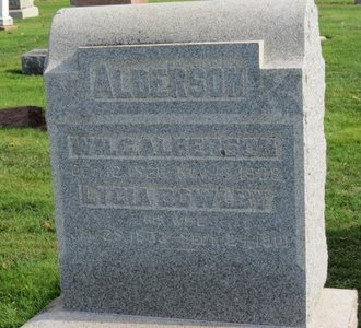 ALBERSON, WM. C. - Ashland County, Ohio | WM. C. ALBERSON - Ohio Gravestone Photos